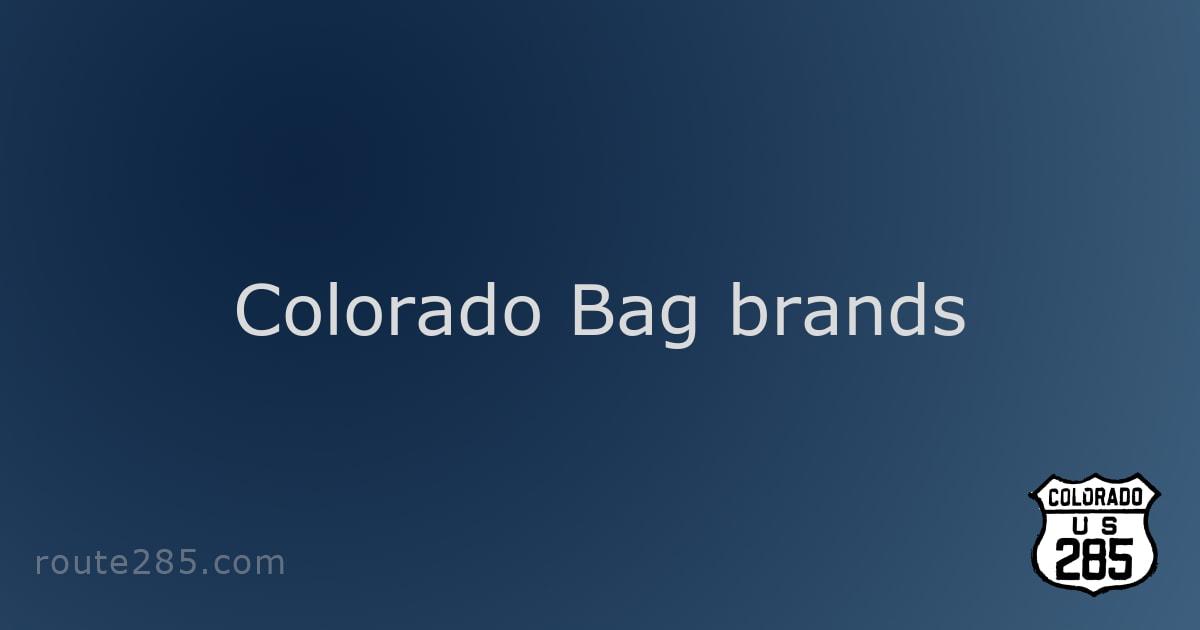 Colorado Bag brands