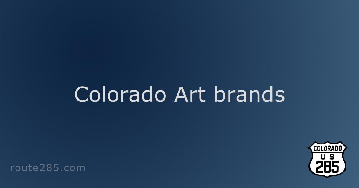 Colorado Art brands